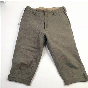 VTG Pants Wool Hunting Moac climbing tweed trouser
